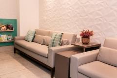 Clínica Poggiali - Recepção - Sala de espera