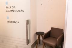 Clínica Poggiali - Recepção - Sala de amamentação - trocador